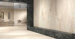 OPAL GREY RECTIFIED POLISHED NANO PORCELAIN TILES 60×120