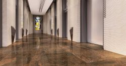 VEZUV BROWN RECTIFIED POLISHED NANO PORCELAIN TILES