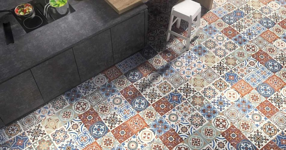 FRIG COMBINATION PORCELAIN TILES