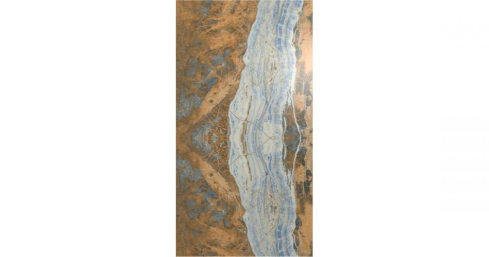 BARBADOS BOOK MATCH RECTIFIED LAPPATO PORCELAIN TILES 120X240