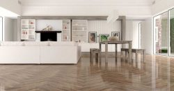 LIMBA BEIGE RECTIFIED POLISHED NANO PORCELAIN TILES
