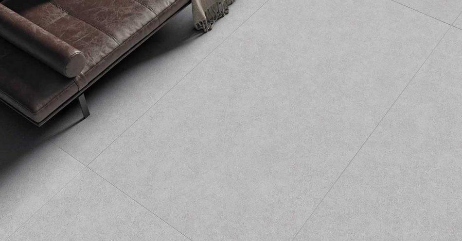 MILESTONE GREY RECTIFIED PORCELAIN TILES 120x240