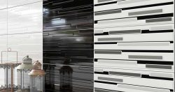 RIGA BLACK WHITE WALL TILES